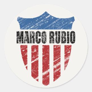 Marco Rubio Round Sticker