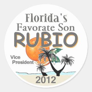 Marco RUBIO VP Classic Round Sticker