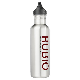 Marco Rubio Water Bottle, Refreshingly Clear Stainless Steel Water Bottle