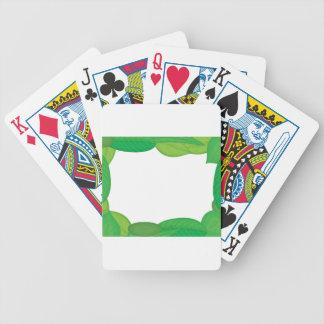 marco verde barajas de cartas