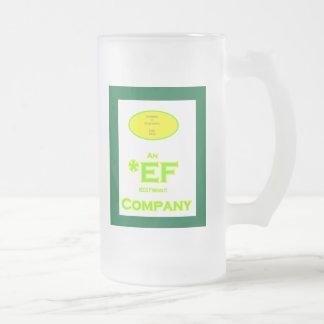 Marco verde de ECO Friendly Company Taza De Cristal