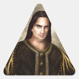 Marco von Bork Calcomanía Triangulo Personalizadas