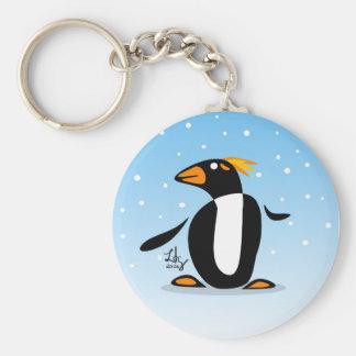 Marconi Penguin Keychain