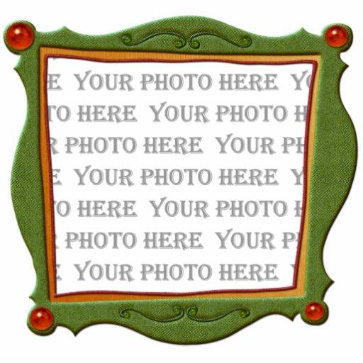 Marcos de la diversión fotoescultura vertical