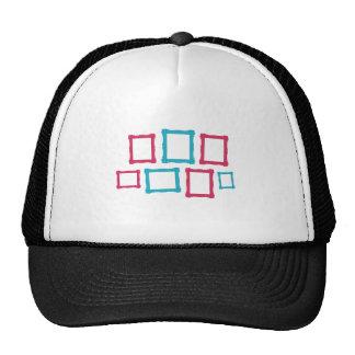 Marcos en gorra clasificado de los tamaños