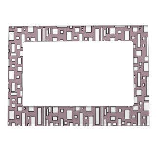 Marcos magnéticos geométricos polvorientos de la l