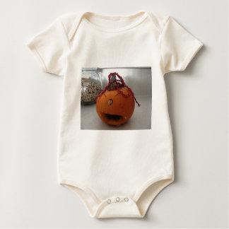 Marcos Pumpkin Baby Bodysuit