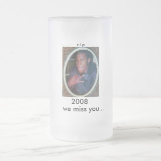 marcus, 2008, we miss you..., r.i.p coffee mugs