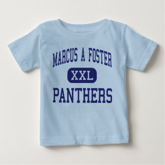 Marcus A Foster Panthers Middle Oakland Baby T-Shirt