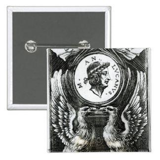 Marcus Annaeus Lucanus Button