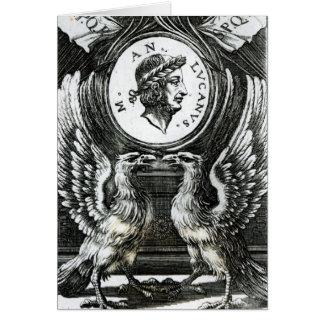 Marcus Annaeus Lucanus Card