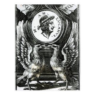 Marcus Annaeus Lucanus Postcard