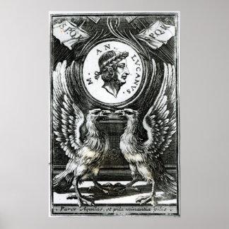Marcus Annaeus Lucanus Poster