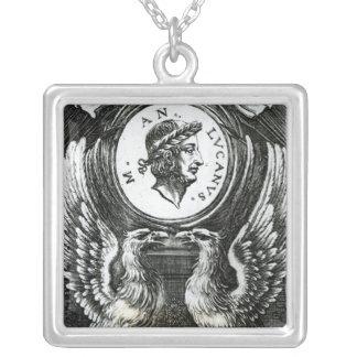 Marcus Annaeus Lucanus Silver Plated Necklace