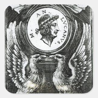 Marcus Annaeus Lucanus Square Sticker