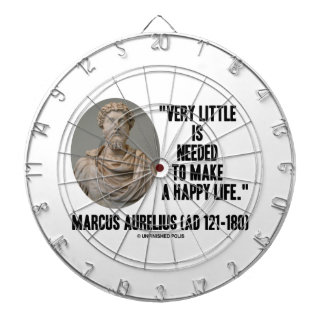 Marcus Aurelius Little Is Needed Make Happy Life Dart Boards