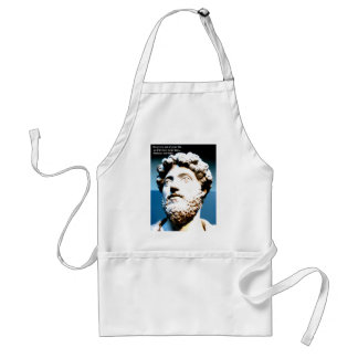 MARCUS AURELIUS quote Do every act of your life as Adult Apron