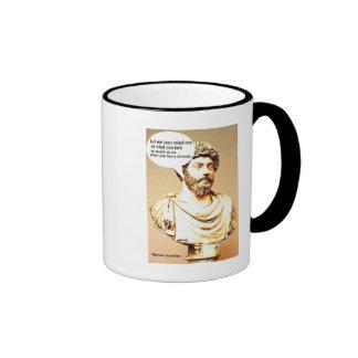 MARCUS AURELIUS quote; Let not your mind run on wh Mugs