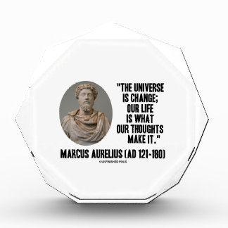 Marcus Aurelius Universe Is Change Thoughts Quote Awards