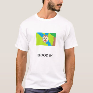 marcus, BLOOD IN T-Shirt