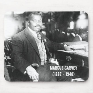 Marcus Garvey Mouse pad