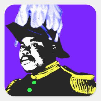 Marcus Garvey Square Stickers