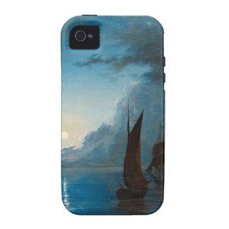 Marcus Larson hav-i-mansken-1848.water boat nature iPhone 4 Cases