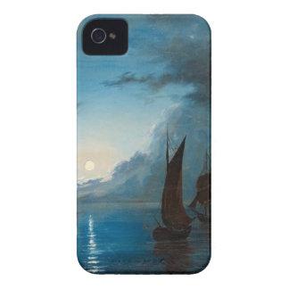 Marcus Larson hav-i-mansken-1848.water boat nature iPhone 4 Covers