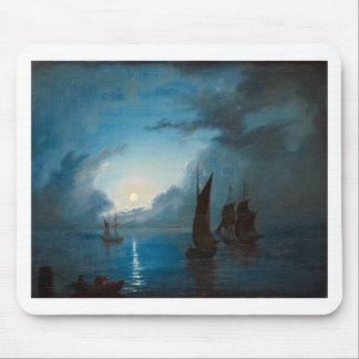 Marcus Larson hav-i-mansken-1848.water boat nature Mousepads