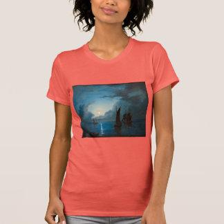 Marcus Larson hav-i-mansken-1848.water boat nature T Shirt
