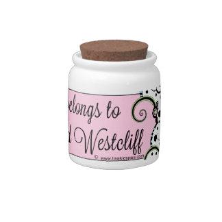 Marcus, Lord Westcliff Candy Jar