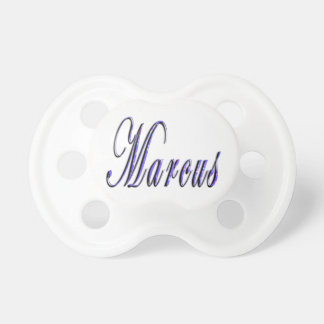 Marcus, Name, Logo, Baby Boys Dummy