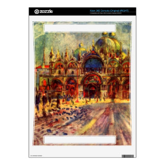 Marcus place in Venice by Pierre Renoir Decal For The Xbox 360