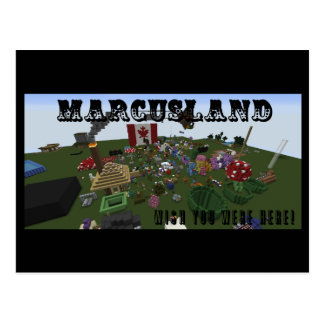 Marcusland! Postcard