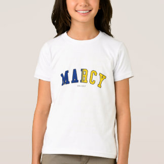 Marcy in New York state flag colors T-Shirt