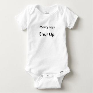 Marcy Says Shut Up shirt
