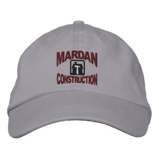 Mardan Construction Embroidered Hat