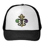 Mardi Fleur de Gras Trucker Hats