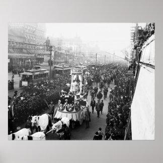 Mardi Gras 1900 Posters