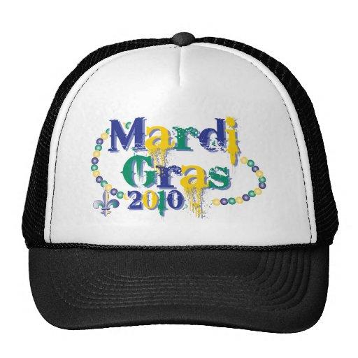 Mardi Gras 2010 beads bc Mesh Hats