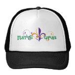 Mardi Gras 2011 Design 2 Mesh Hats