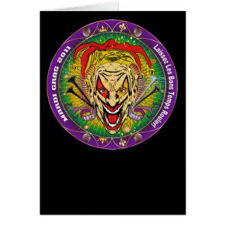 Mardi Gras 2011 Joker-V-3 Card