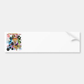 Mardi-Gras 2011 The Joker II Bumper Sticker