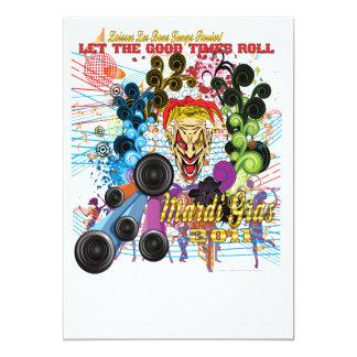 Mardi-Gras 2011 The Joker II Card
