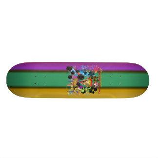 Mardi-Gras 2011 The Joker II Custom Skate Board