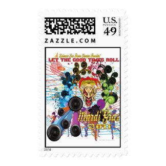 Mardi-Gras 2011 The Joker II Stamp