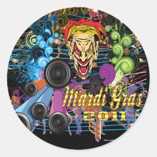 Mardi-Gras 2011 The Joker II Stickers