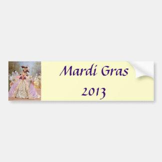 Mardi Gras 2013 Bumper Sticker