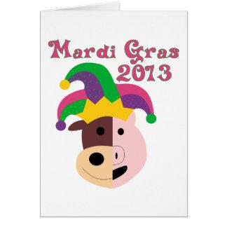 Mardi Gras 2013 Tees & Memorabilia Card