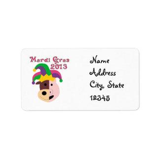 Mardi Gras 2013 Tees & Memorabilia Label